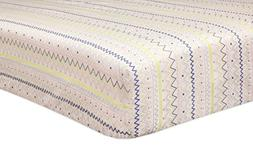 Babyletto Fitted Crib Sheet, Desert Dreams