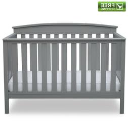 Delta Children's Products Gateway 4-in-1 Fixed-Side Crib, Ch
