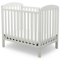 Delta Children Gateway Mini Convertible Baby Crib with Mattr