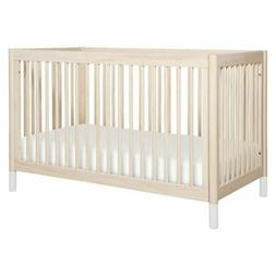 Babyletto Gelato 4-in-1 Convertible Crib, White Color Feet