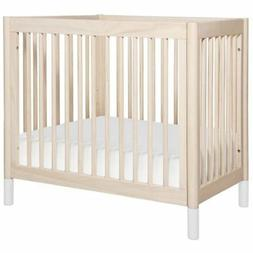 Babyletto Gelato 2-in-1 Mini Crib in Washed Natural and Whit