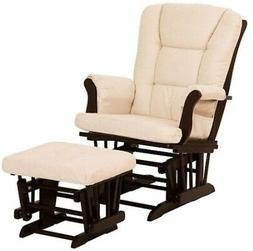 Glider & Ottoman Chair Gliders Baby Nursery Furniture Rocker