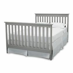Delta Children Greyson Signature 4-in-1 Convertible Crib, Wh