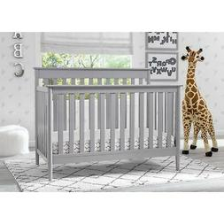 Delta Children Greyson Signature 4-in-1 Convertible Crib,