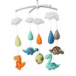 Handmade Baby Crib Musical Mobile  Colorful Room Decor