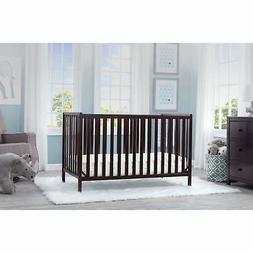 heartland 4 in 1 convertible crib dark