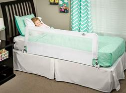 Regalo Hideaway 54-Inch Extra Long Bed Rail Guard, with Rein