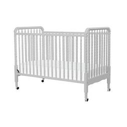 DaVinci Jenny Lind 3-in-1 Convertible Crib - Fog Grey