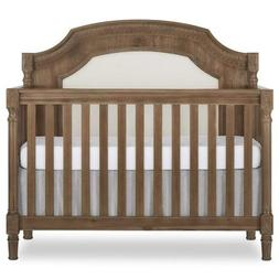Evolur Julienne 5 in 1 Convertible Crib, Toffee with Sunbrel