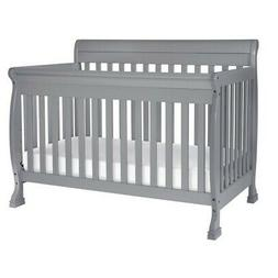 kalani 4-in-1 convertible crib, grey