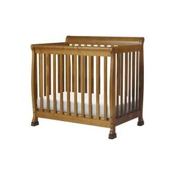 DaVinci Kalani 2-in-1 Convertible Mini Crib - Chestnut