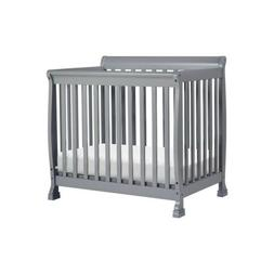 Da Vinci Kalani 2 in 1 Mini Crib and Twin Bed in Gray