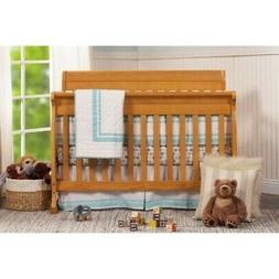 DaVinci Kalani Honey Oak 4-in-1 Convertible Crib + Toddler R