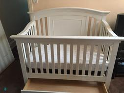 kid bed with pull out drawer matress included