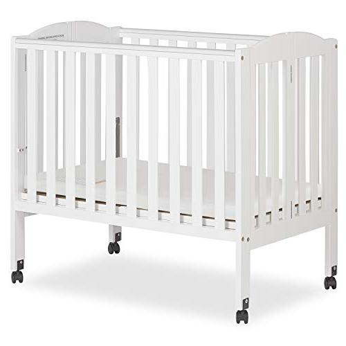 Dream Me in Portable Stationary Side Crib,