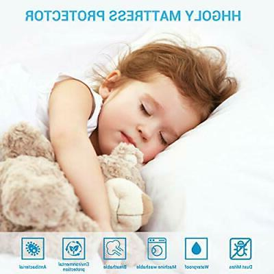 2 Pack Mattress Protector, Quilted Baby Mattress E