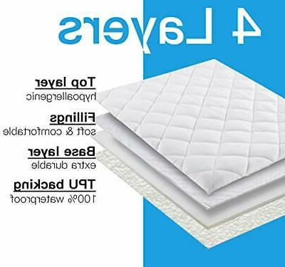 2 Mattress Protector, Quilted Baby E