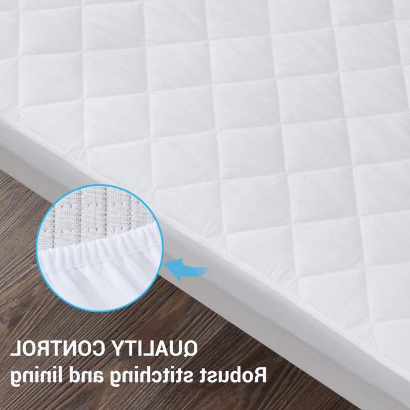 2 Pack Mattress Protector, Fitted Baby Mattress