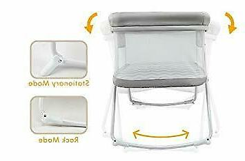 2in1 rock and stay bassinet one second