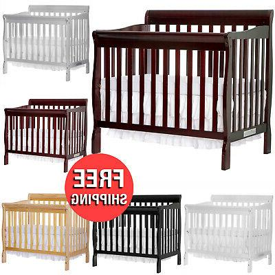 4 in 1 baby mini crib toddler
