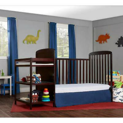 4-in-1 Convertible Toddler Bed W/
