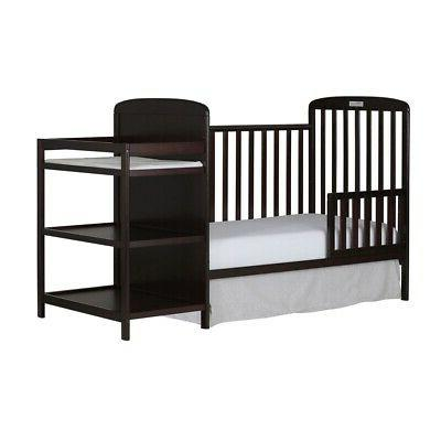 4-in-1 Convertible Crib, Toddler Day Day