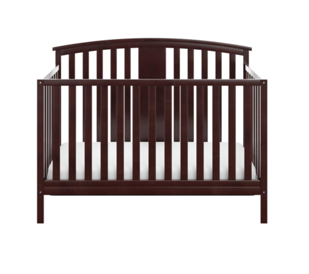 4 Convertible Wooden Baby Bed and Bedroom Infant