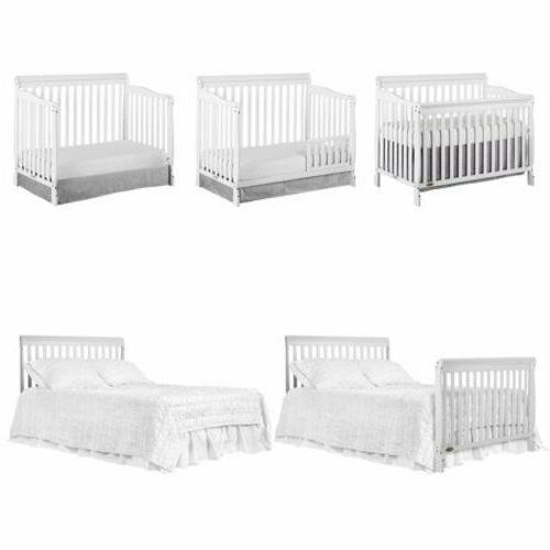 5 in 1 convertible baby bed full
