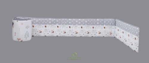 6-Piece Fox Baby Crib Bedding Sets OptimaBaby