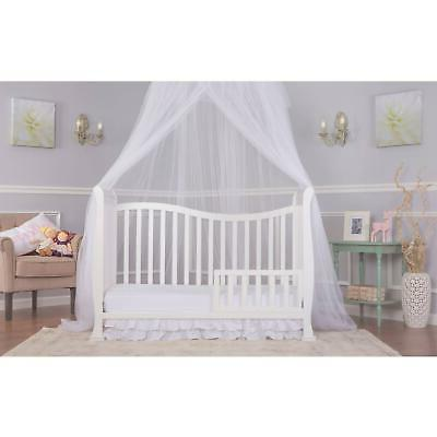 7-in-1 Convertible Crib Baby Furniture Bed