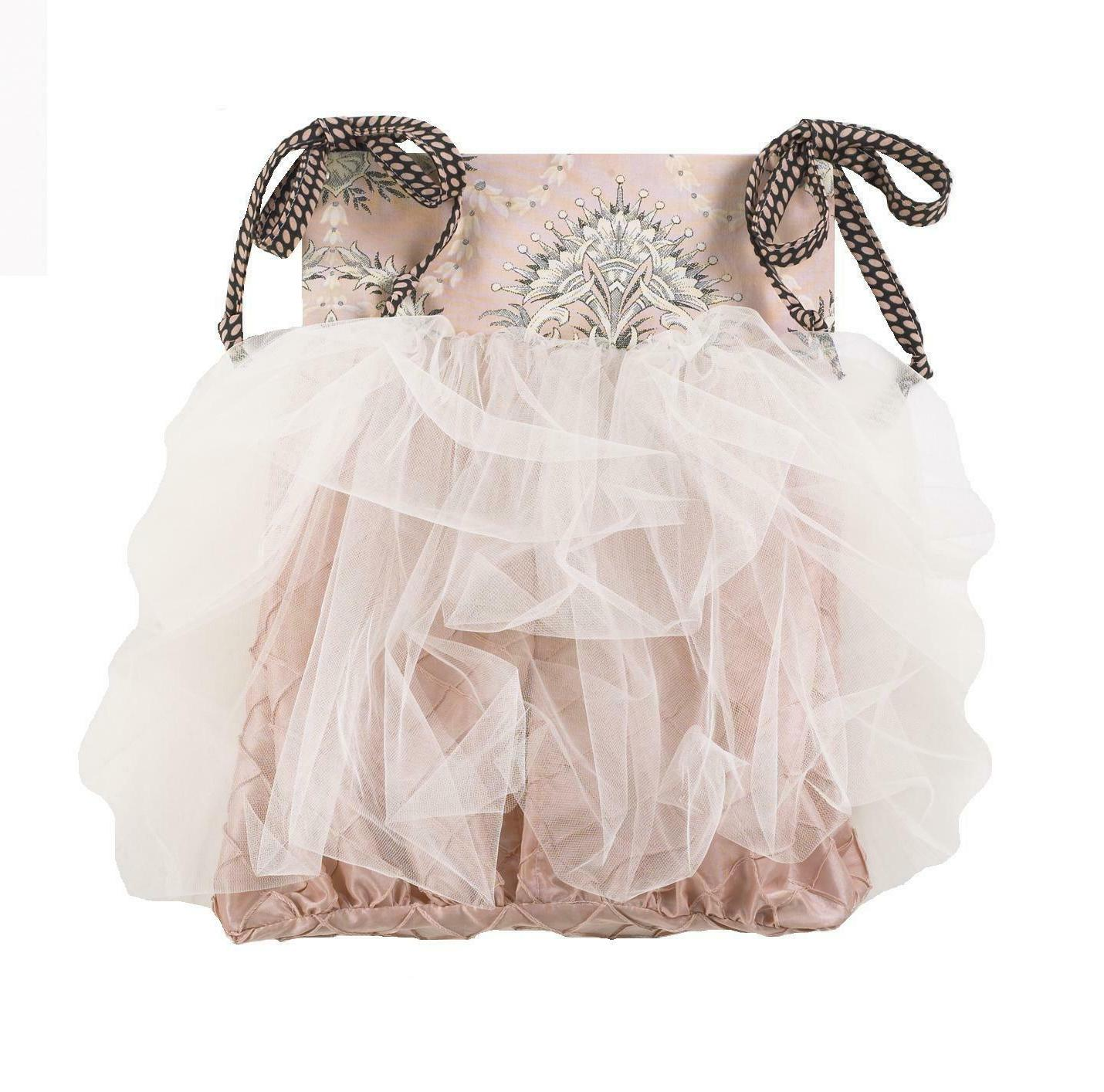 9 Piece Baby Tulle Charcoal