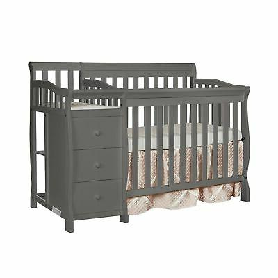 Dream On Me Jayden 4-in-1 Mini Convertible Crib And Changer