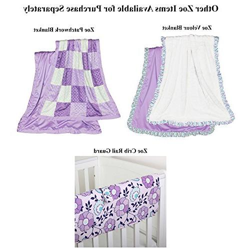 Purple 4-in-1 Bedding Set The Shell