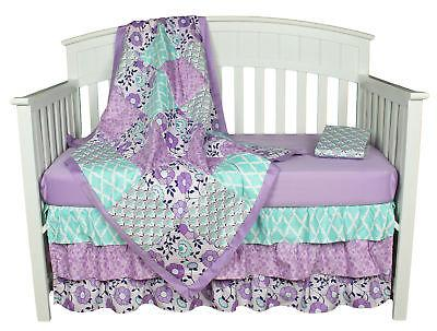 Purple Baby 4-in-1 Bedding The