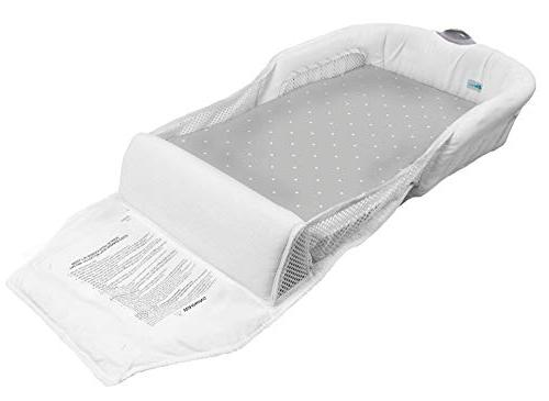The First Years Cozy Baby Sleeper Infant Sleeper Baby Bed Perfect Cosleep Solution Portable Infant Cosleeper Is Great For Travel Nightlight