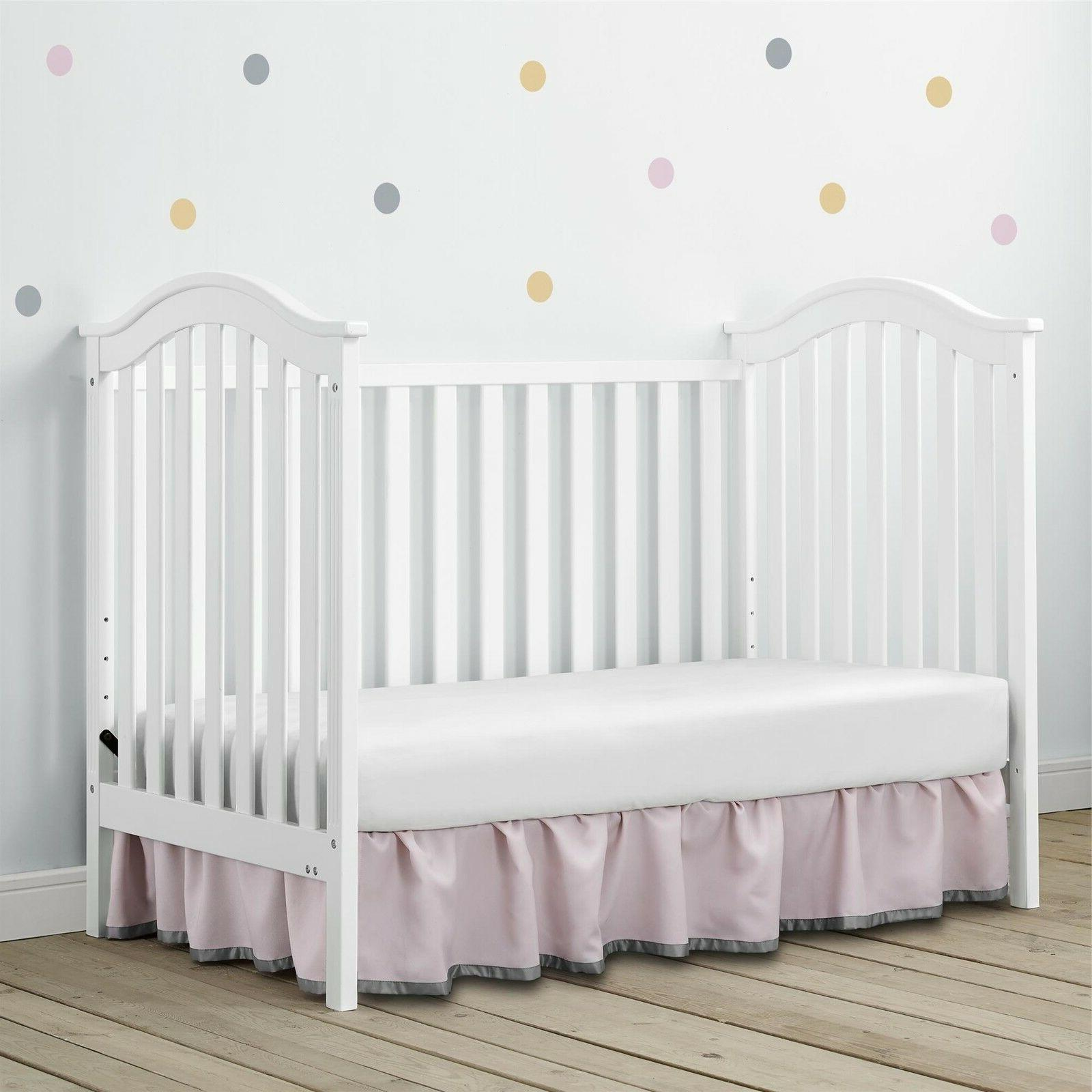 Baby Relax Adelyn 2-in-1 Convertible Crib,
