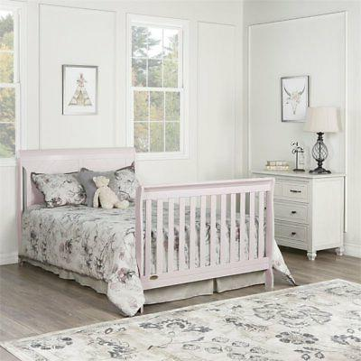 Dream Full in 1 Crib in Blush