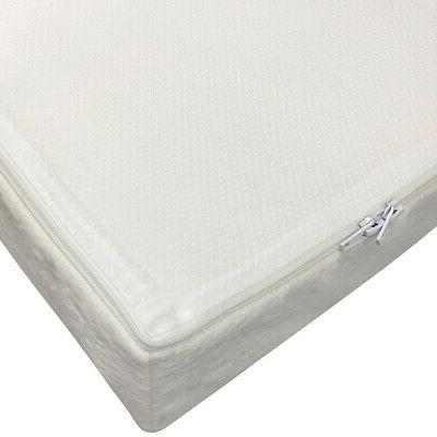 Baby Toddler Memory Foam Crib with Waterproof Bamboo Fabric Cover