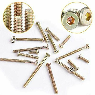 Baby Bed Crib Screws Assortment Replacement M6 x20mm/ ...