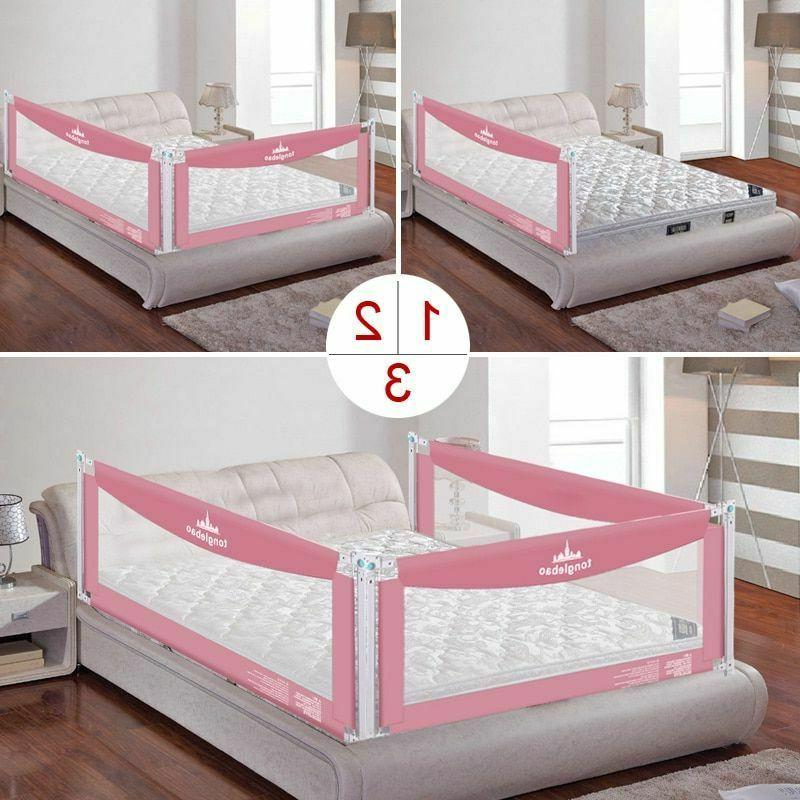 Baby Bed Fence Kid Playpen Safety Gate Barrier Security
