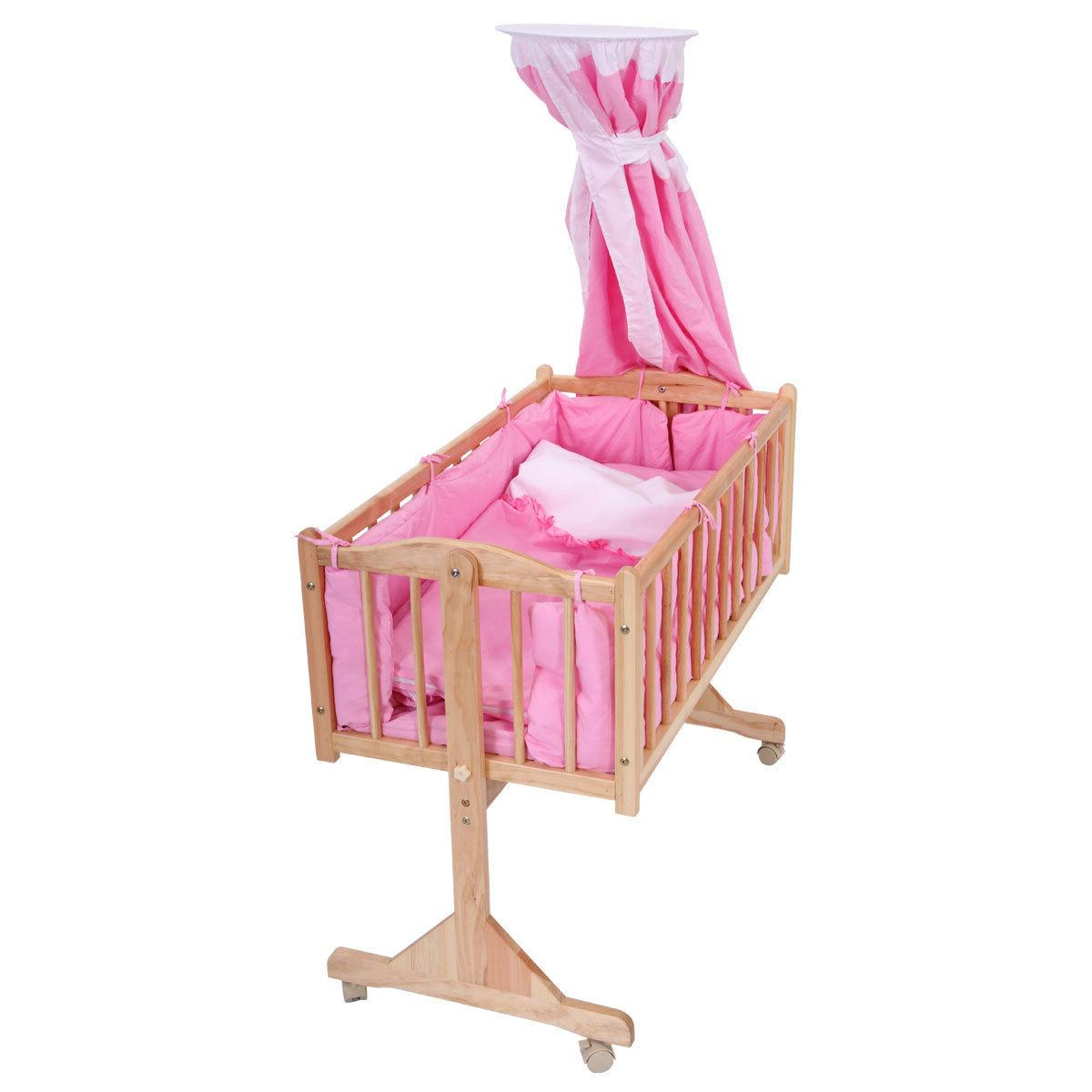 baby child cradle nursery side