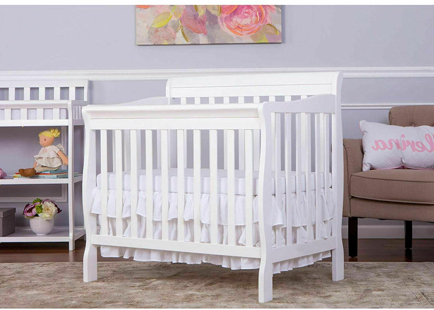 Baby Crib Me 4 1 Convertible Nursery Furniture Day Bed