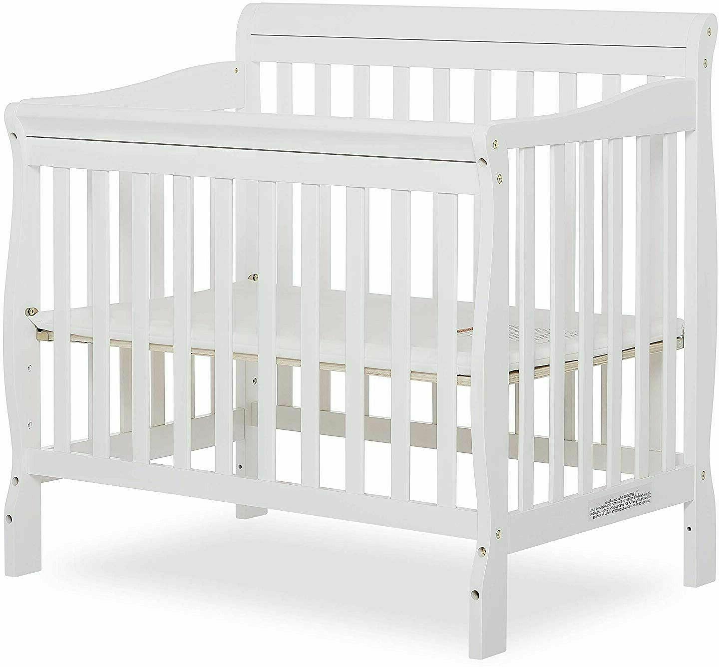 Baby Crib Me Convertible Furniture Crib Day Bed White