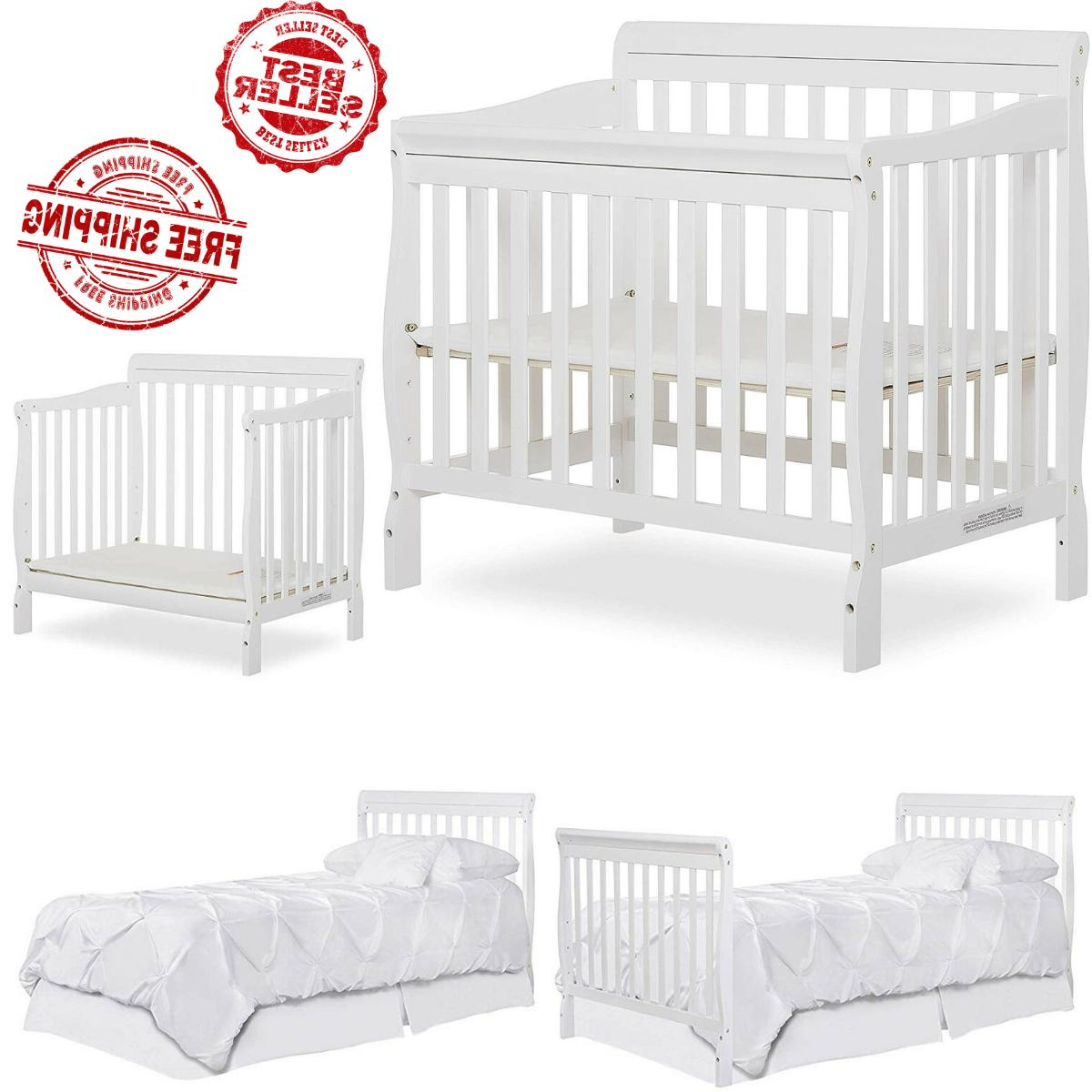 baby crib 4 in 1 convertible nursery
