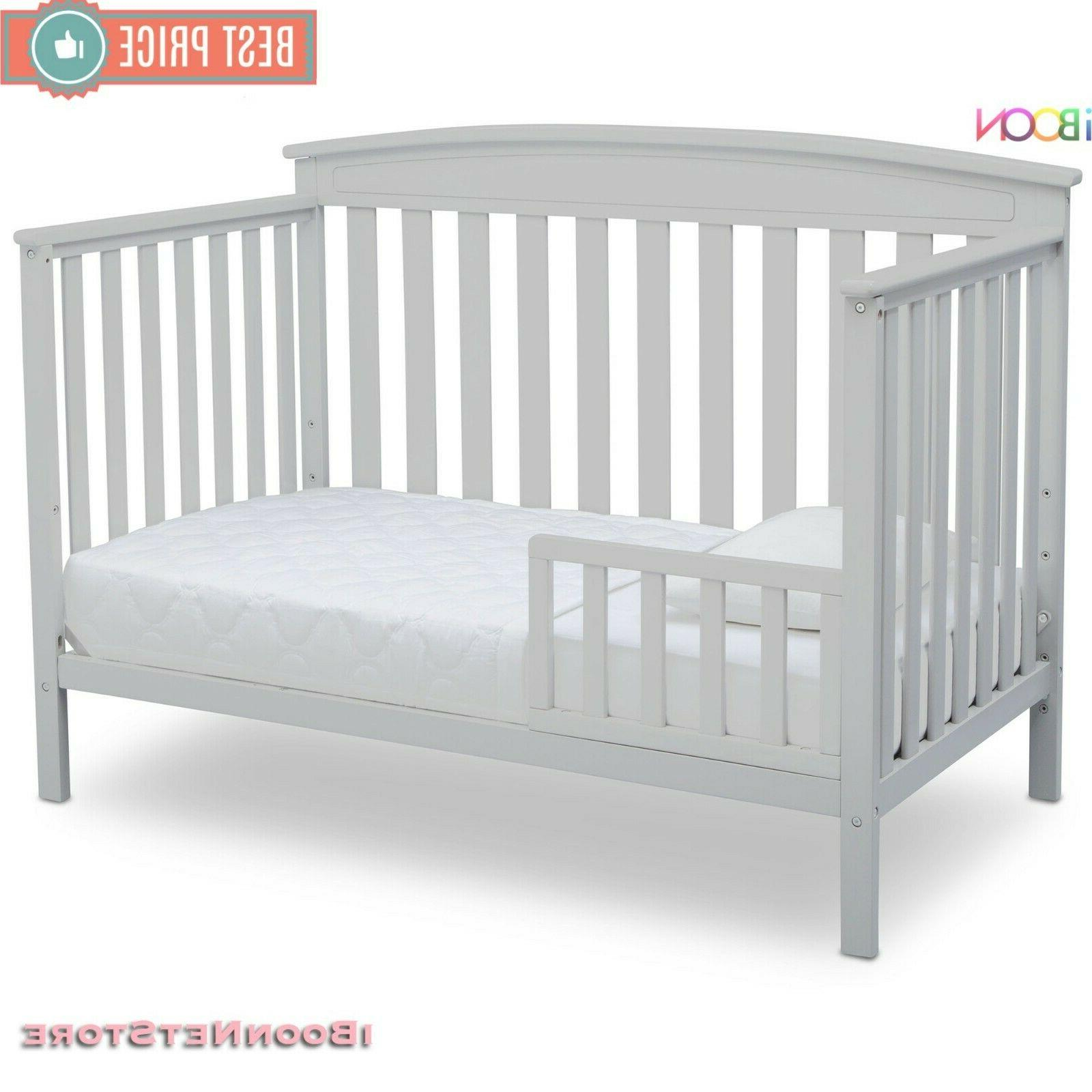 Adjustable Baby Crib in 1 Sold Wood to BED