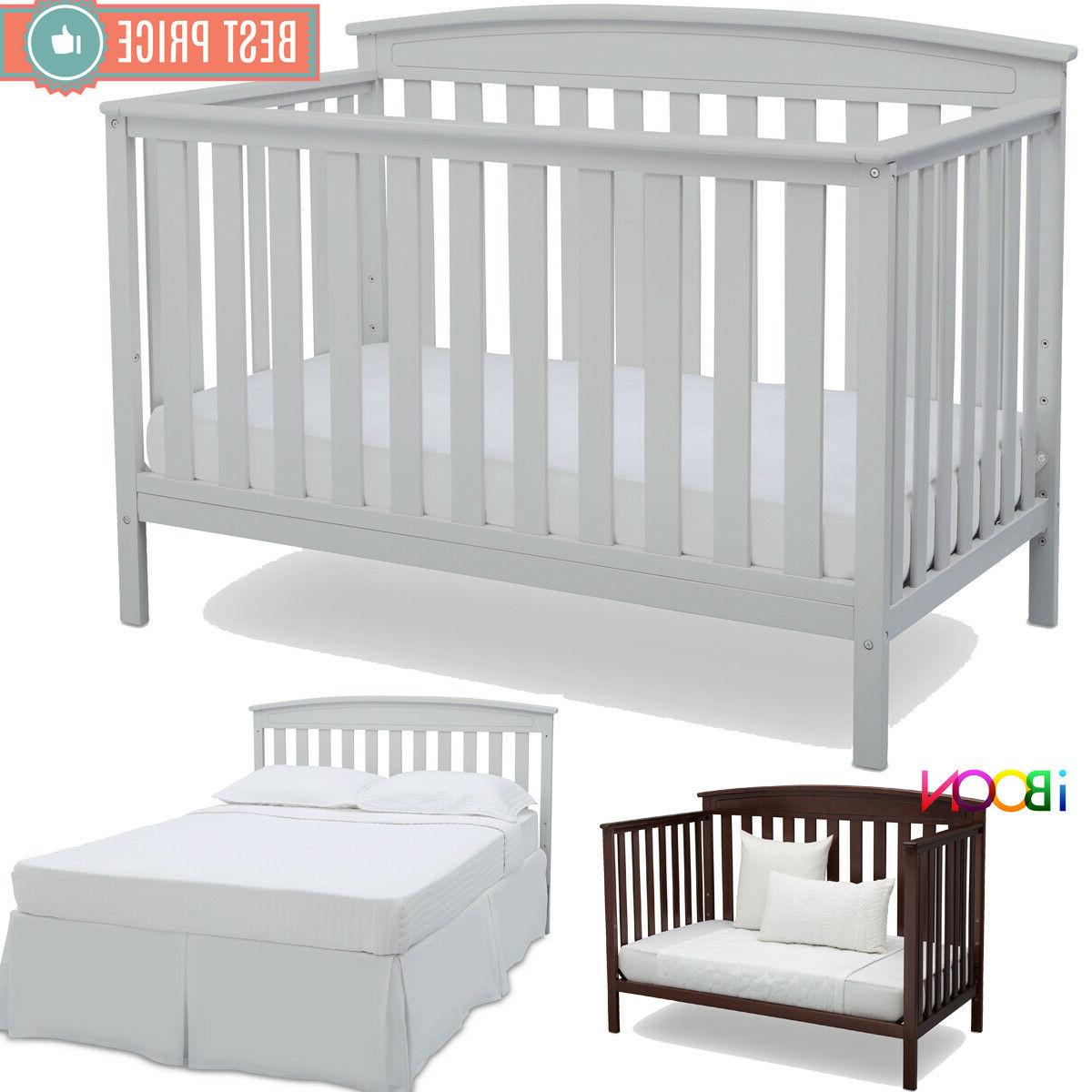 baby crib 4 in 1 convertible sold