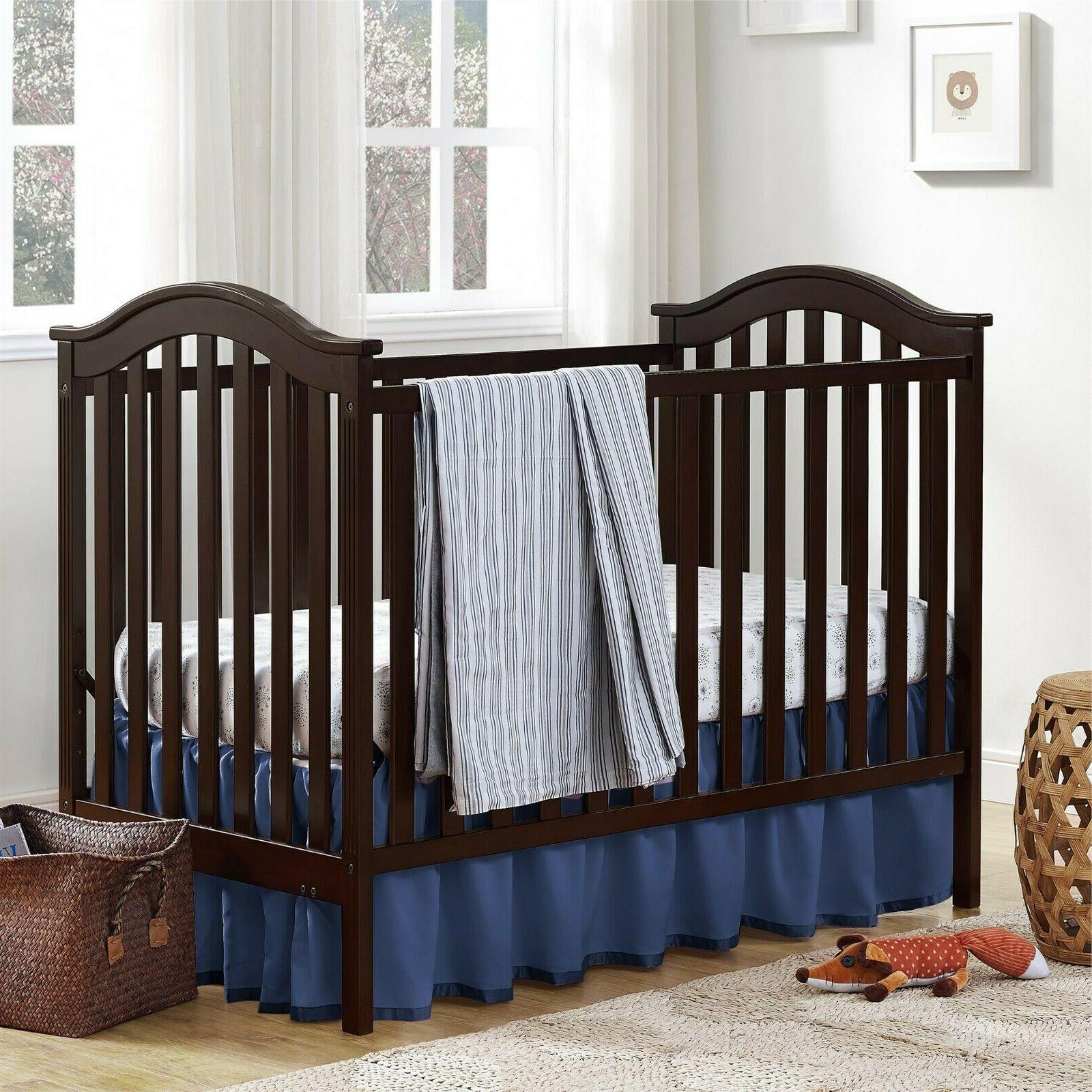 Adelyn 2-in-1 Sturdy Wood Unisex Convertible Modern Baby Tod