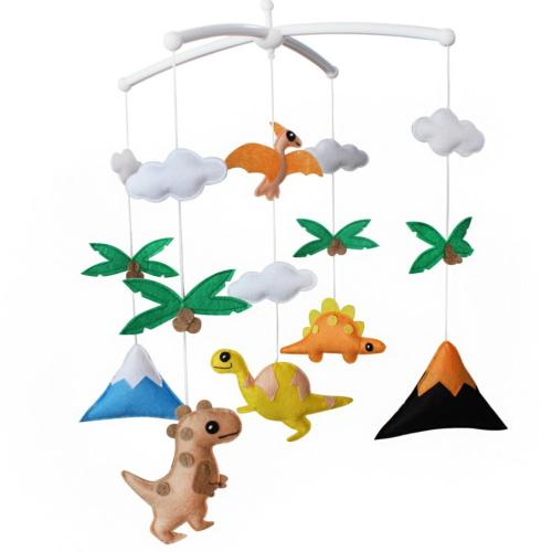 Baby Crib Toy with Arm  Musical Mobile