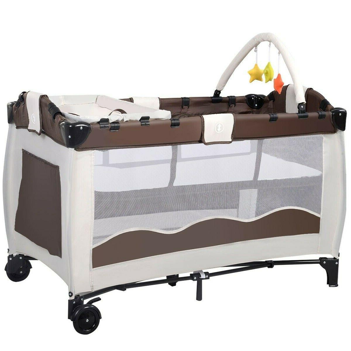 Baby Crib Playpen Nursery