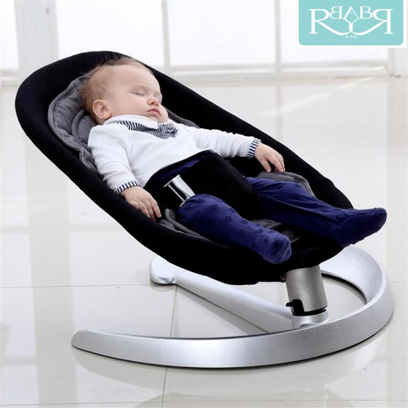 Remarkable Baby Rocking Chair No Electric Radiation Bodyguard Crib Baby Cradle Trampoline Squirreltailoven Fun Painted Chair Ideas Images Squirreltailovenorg